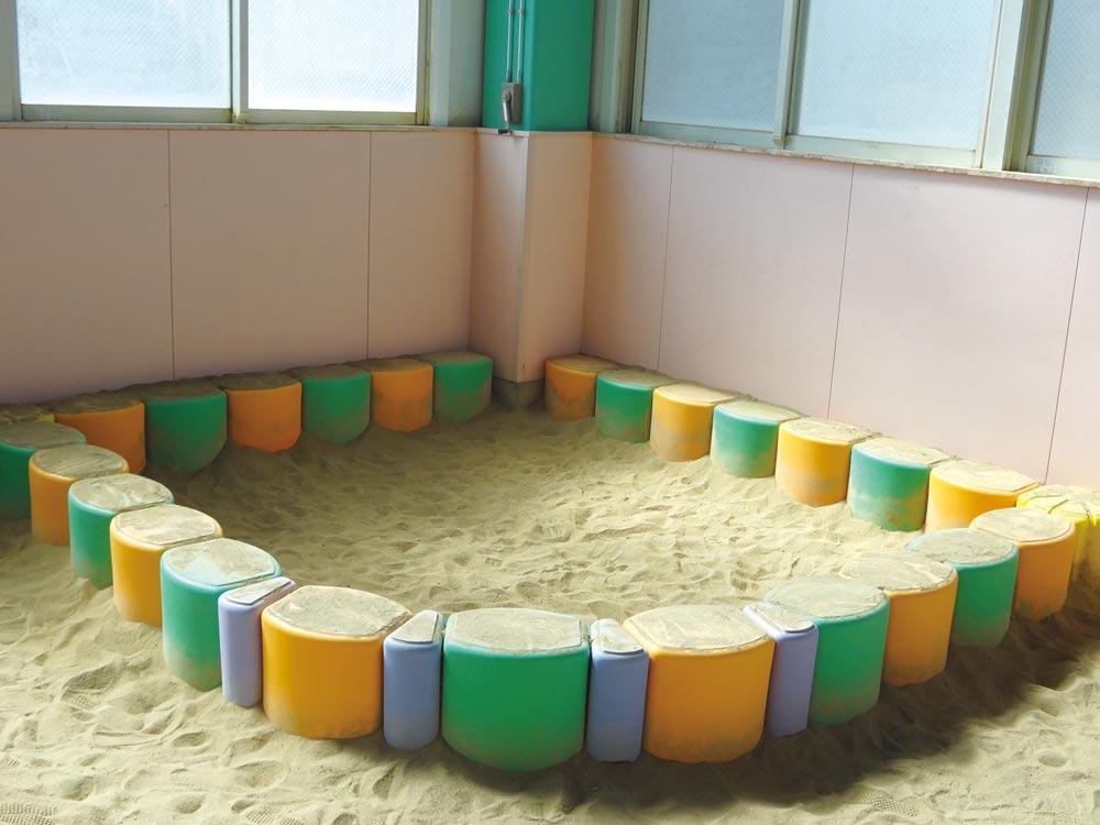 明成幼稚園 明成ドームの砂場